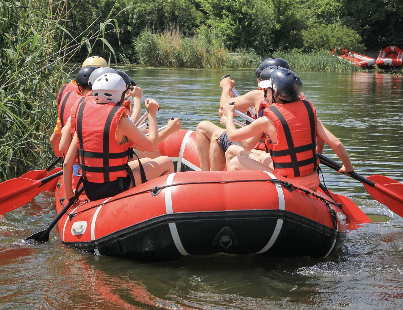 Bootstour auf der Weser